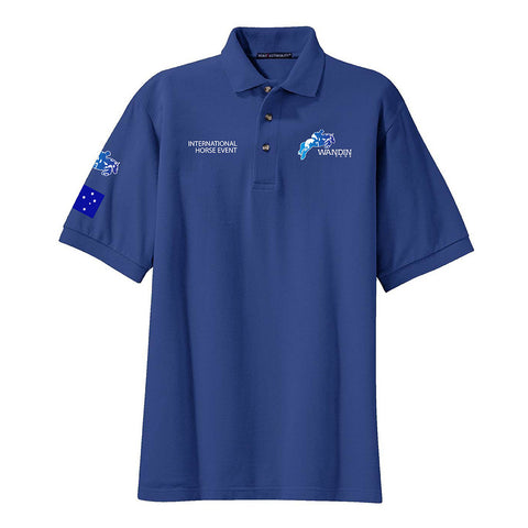 Wandin International Horse Event Unisex Polo