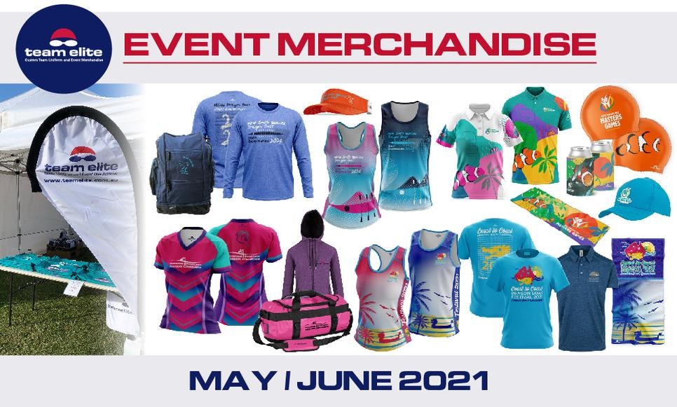 Team Elite Merchandise - Event Stores