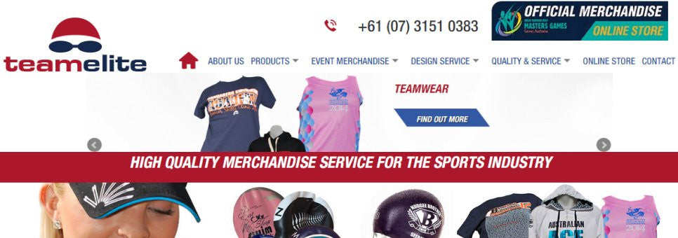 Elite Merchandise Website