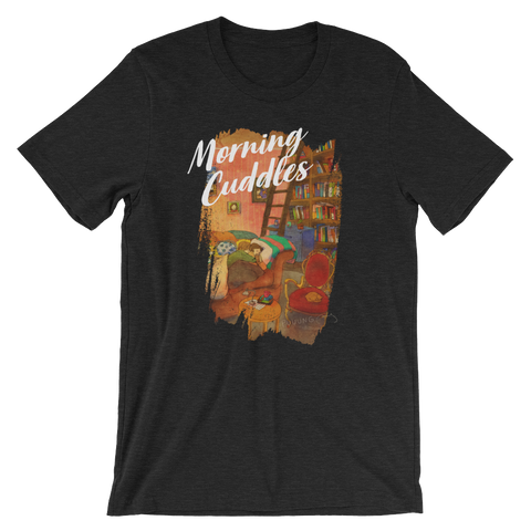 Sweet Morning Cuddles #03A by Puuung - Short-Sleeve Unisex T-Shirt