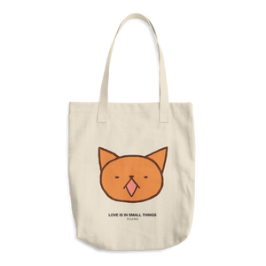 Cute Garfield meow by Puuung - Cotton Tote Bag