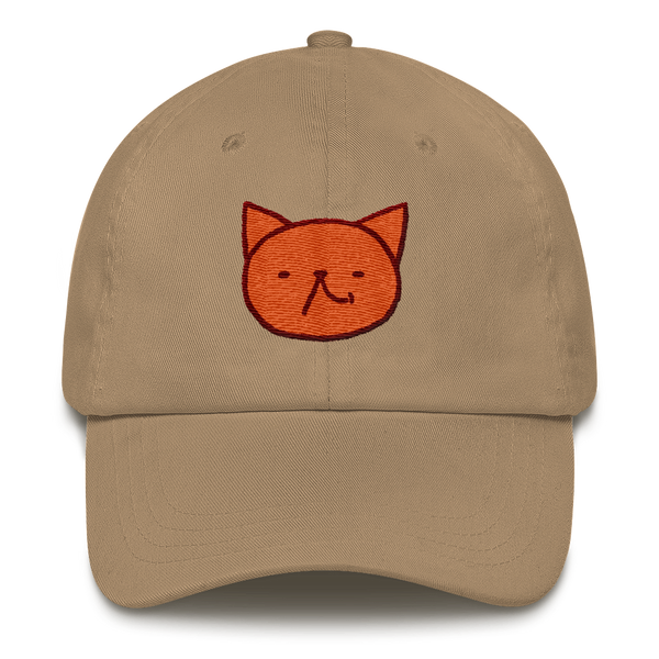 Cute Garfield laugh by Puuung - Baseball Cap