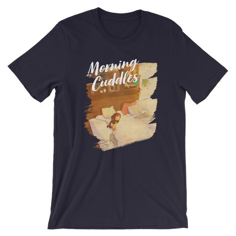 Sweet Morning Cuddles #07A by Puuung - Short-Sleeve Unisex T-Shirt
