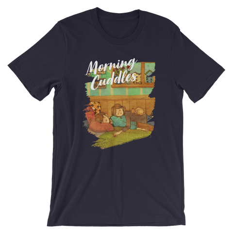 Sweet Morning Cuddles #06A by Puuung - Short-Sleeve Unisex T-Shirt