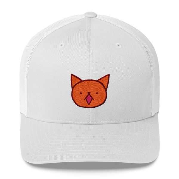Cute Garfield meow by Puuung - Trucker Cap
