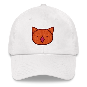 Cute Garfield meow by Puuung - Baseball Cap