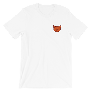 Cute Garfield laugh by Puuung - Short-Sleeve Unisex T-Shirt