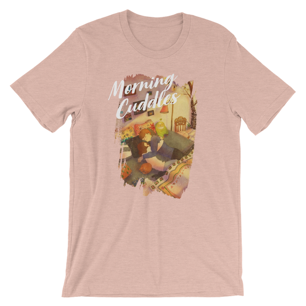 Sweet Morning Cuddles #01B by Puuung - Short-Sleeve Unisex T-Shirt