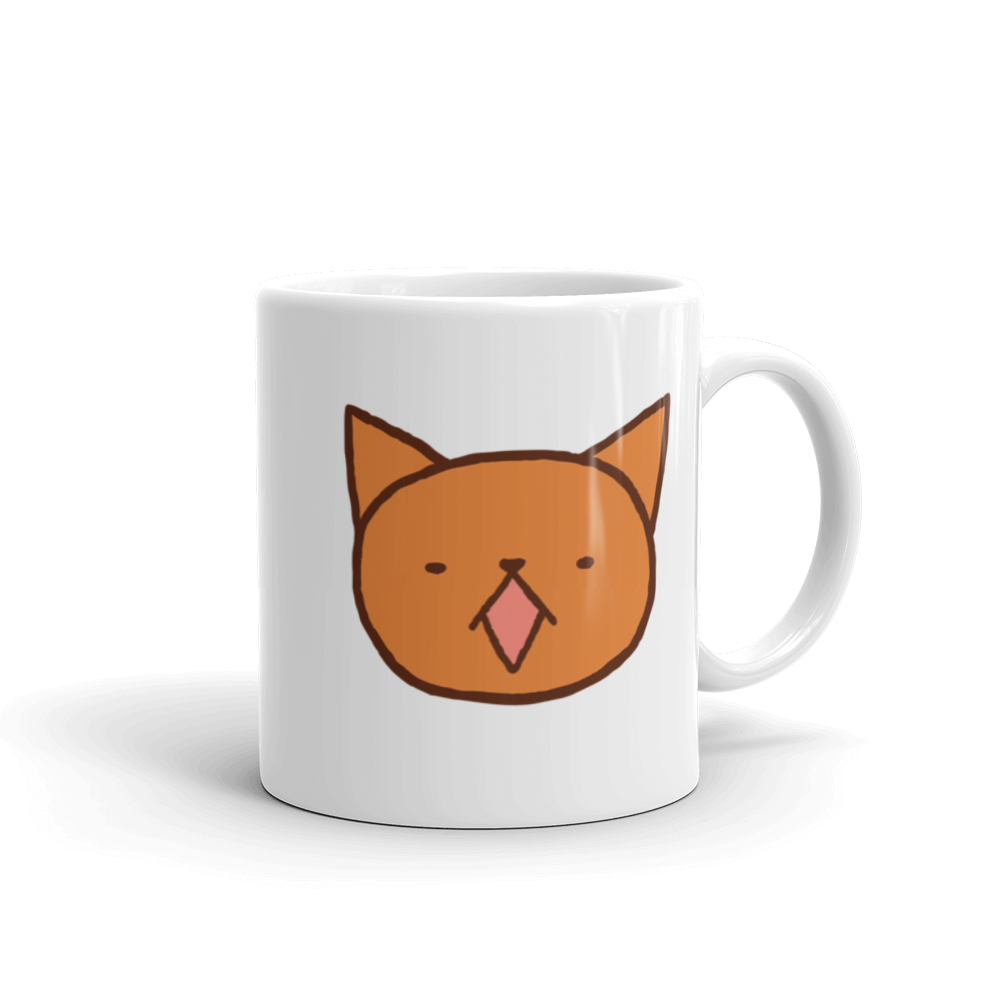 Cute Garfield meow by Puuung - Mug