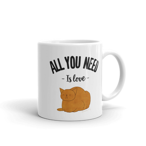 Cute Cat Garfield #01 by Puuung - Mug