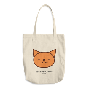 Cute Garfield laugh by Puuung - Cotton Tote Bag