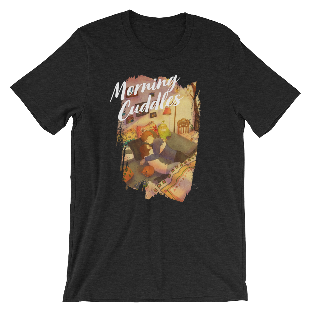 Sweet Morning Cuddles #01A by Puuung - Short-Sleeve Unisex T-Shirt