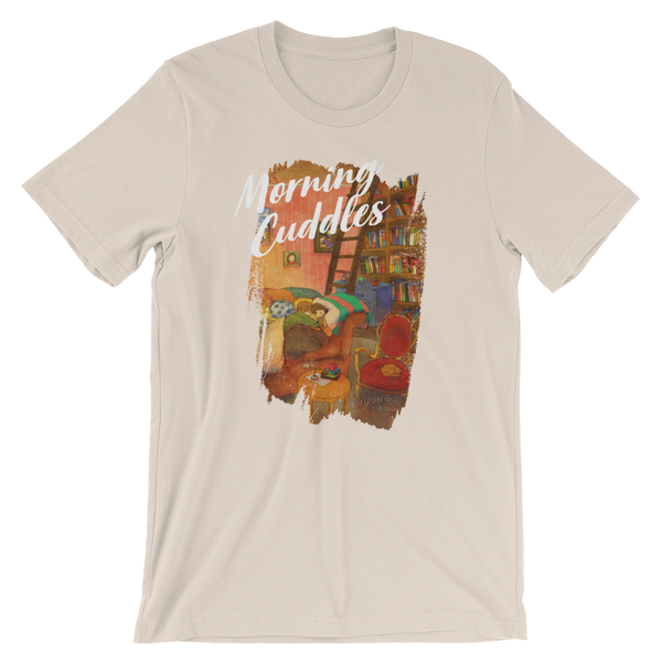 Sweet Morning Cuddles #03B by Puuung - Short-Sleeve Unisex T-Shirt