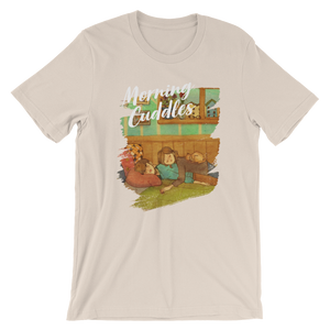 Sweet Morning Cuddles #06B by Puuung - Short-Sleeve Unisex T-Shirt