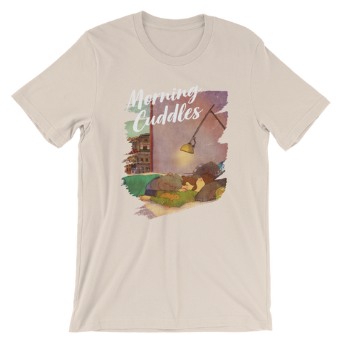 Sweet Morning Cuddles #04B by Puuung - Short-Sleeve Unisex T-Shirt