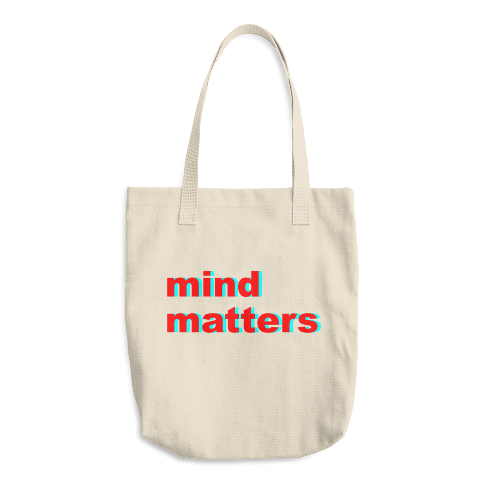 Mind matters - Cotton Tote Bag