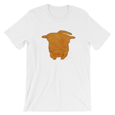 Cute Cat Garfield #03 by Puuung - Short-Sleeve Unisex T-Shirt