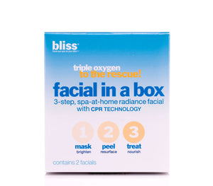 Triple Oxygen Facial in a Box - Bliss - YouFromMe