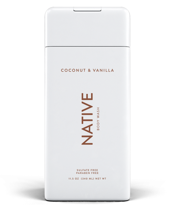 Coconut & Vanilla Body Wash - Native - YouFromMe