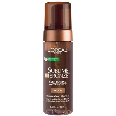 Sublime Bronze Hydrating Self-Tanning Water Mousse