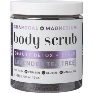 Lavender Tea Tree Beauty Detox + Sleep Body Scrub - YouFromMe