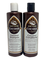 Coconut Shampoo & Conditioner With Argan Oil - YouFromMe.