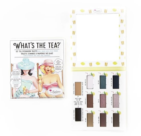 What's The Tea? Ice Tea Eyeshadow Palette - The Balm - YouFromMe