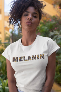 Women's T-shirt - MELANIN  (Multiple colors)