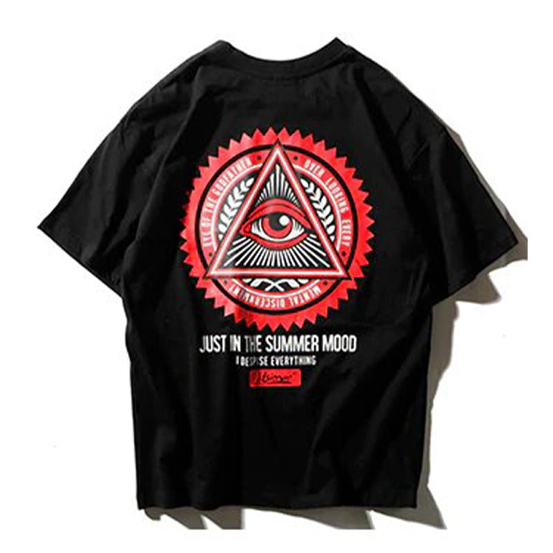 T-shirt Geometry Eyes - Tekocloth