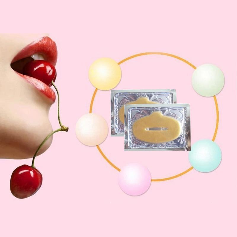 10 PCS GOLD BIO COLLAGEN LIP MASK