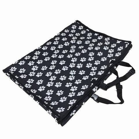 Paw Pattern Dog Seat Cover