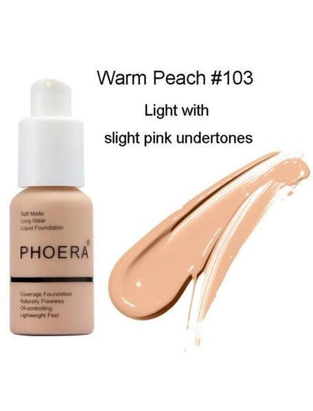 Soft Matte Full Coverage Liquid Foundation
