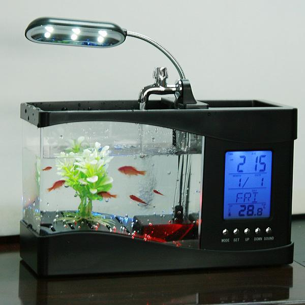 Intelligent Mini Fish Tank