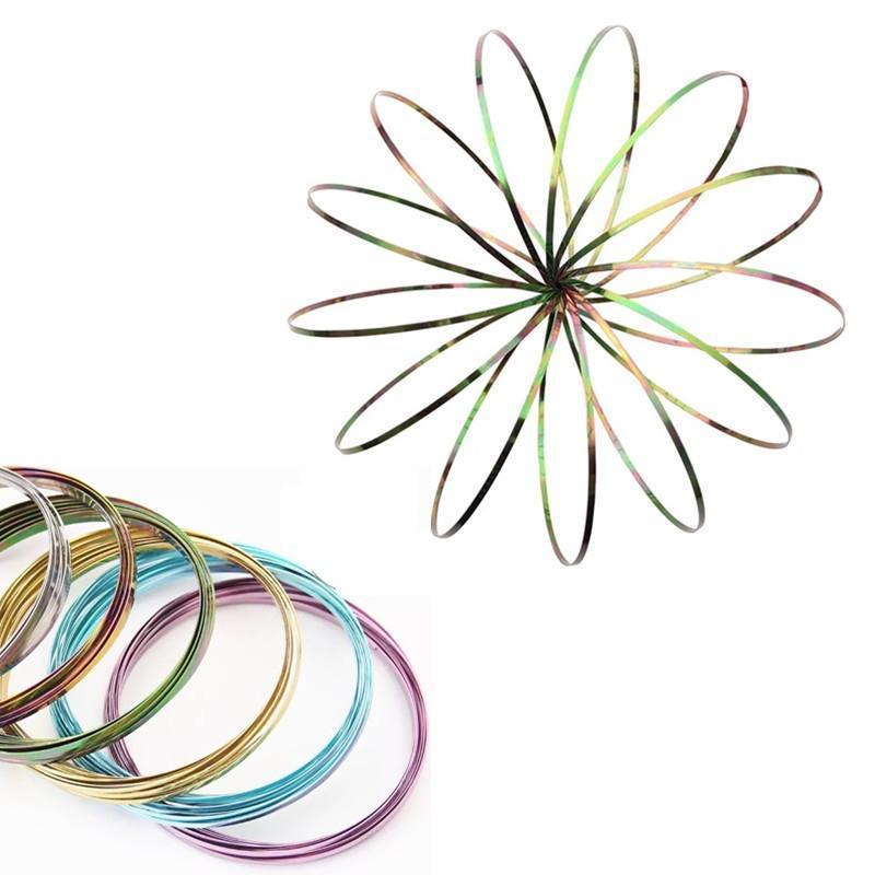 Magic Flow Ring - The Amazing Interactive Kinetic Toy