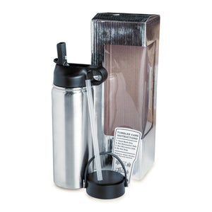 18oz Hydro Water Bottle (2 Lids)