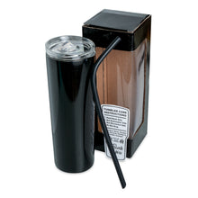 Load image into Gallery viewer, 20oz Skinny Tumbler - Glossy Powder Coated