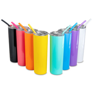 20oz Skinny Tumbler - Glossy Powder Coated