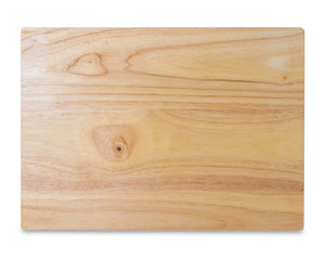 "Rubber Wood Cutting Board - 14"" x 10"""