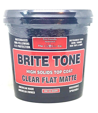 CrystaLac Brite Tone (BT) Clear Flat Matte Finish