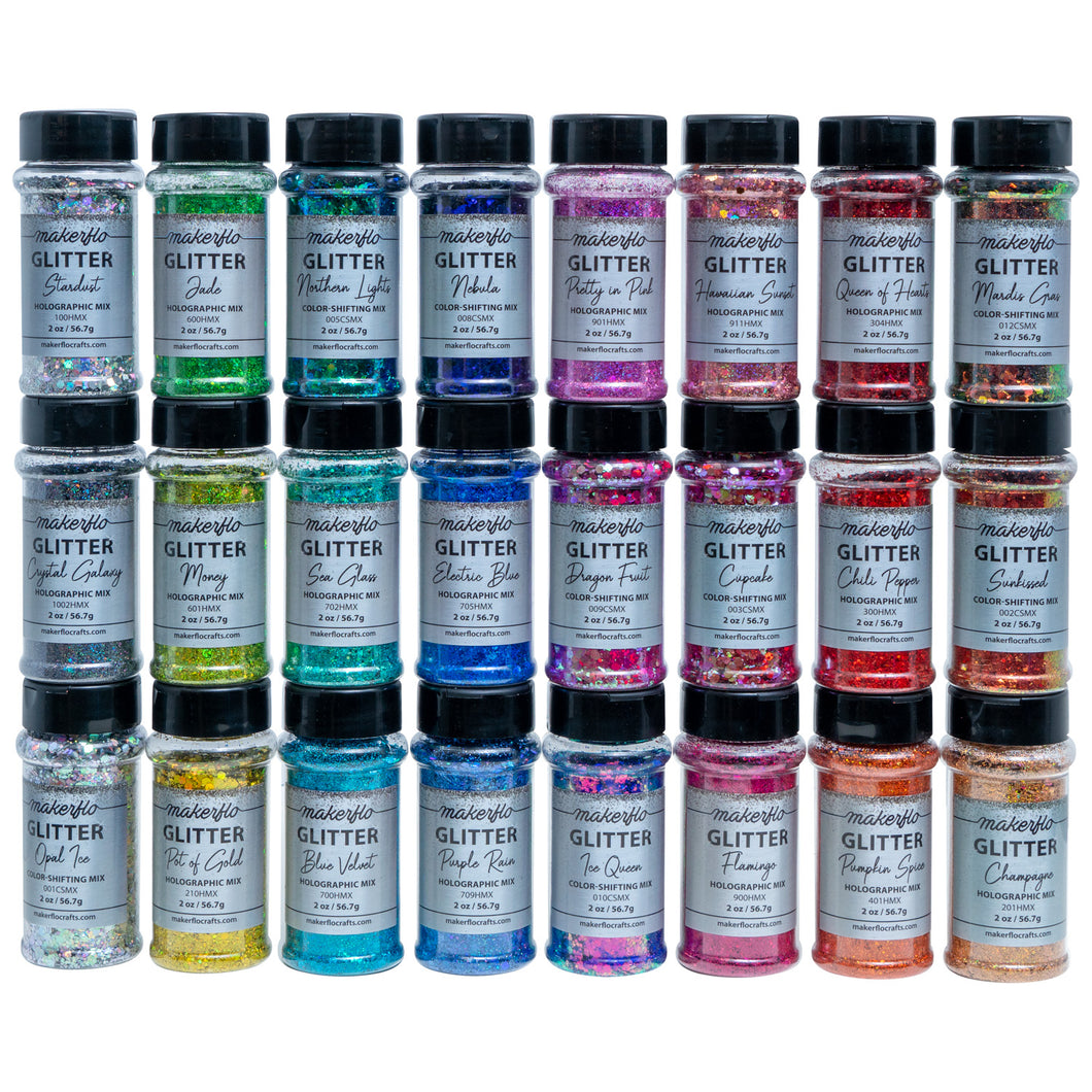 Glitter Variety Set (24 Colors)