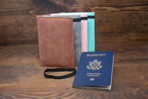 Leatherette Passport Cover - Gift