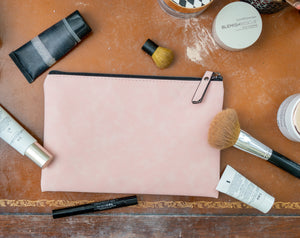 Leatherette Pouch / Makeup Bag - Gift