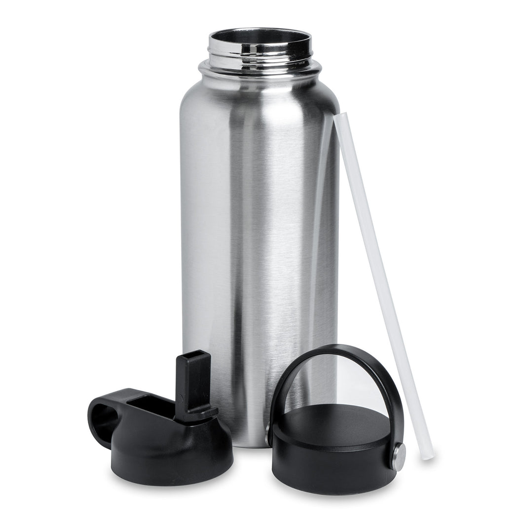 32oz Hydro Water Bottle (2 Lids)