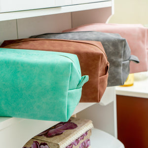 Bulk toiletry bags for cosmetics and more!