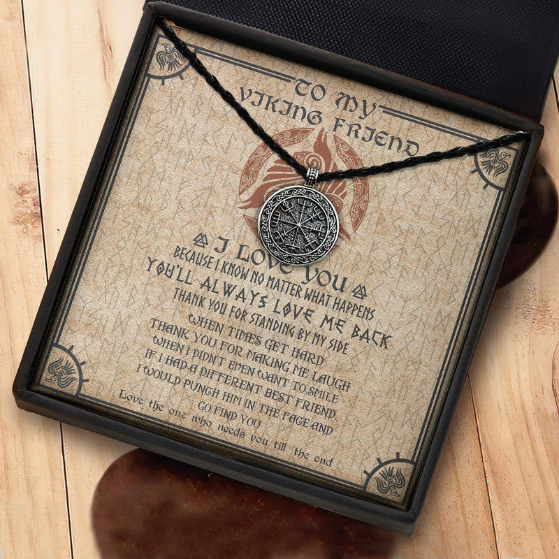 To My Viking Friend - Viking Necklace - Message Card - TQNL0095