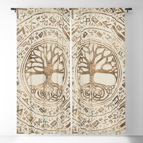 Viking Window Curtain HNCVK0002