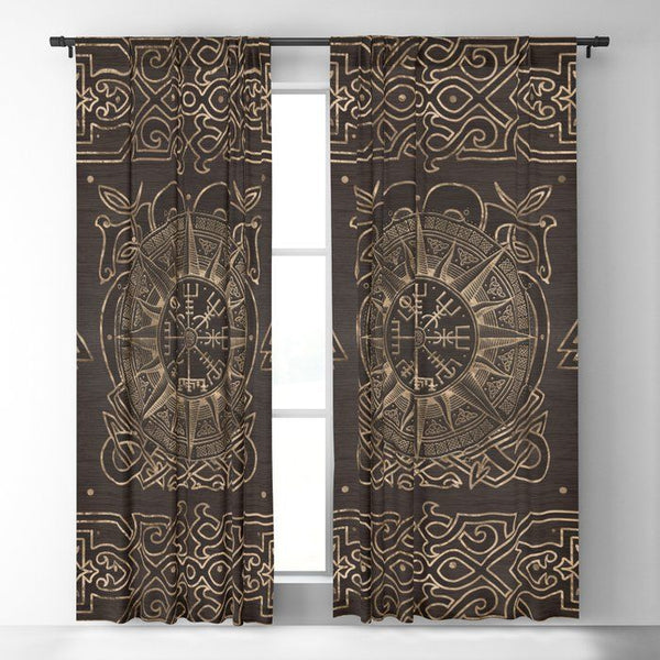 Viking Window Curtain HNCVK0004