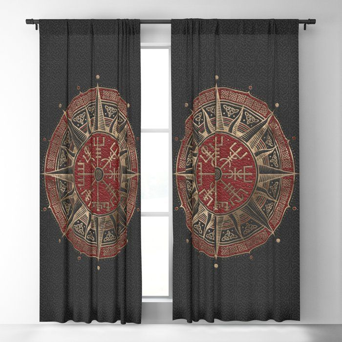 Viking Window Curtain HNCVK0006