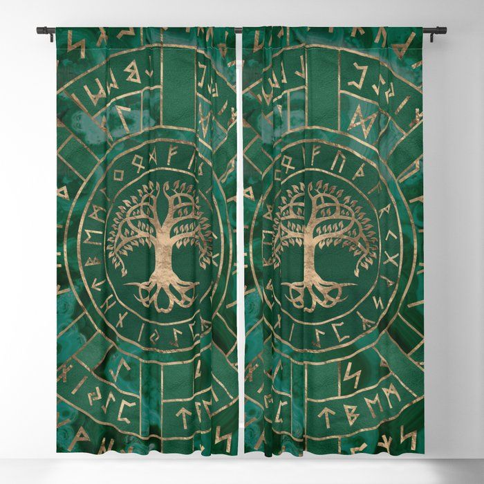 Viking Window Curtain HNCVK0007
