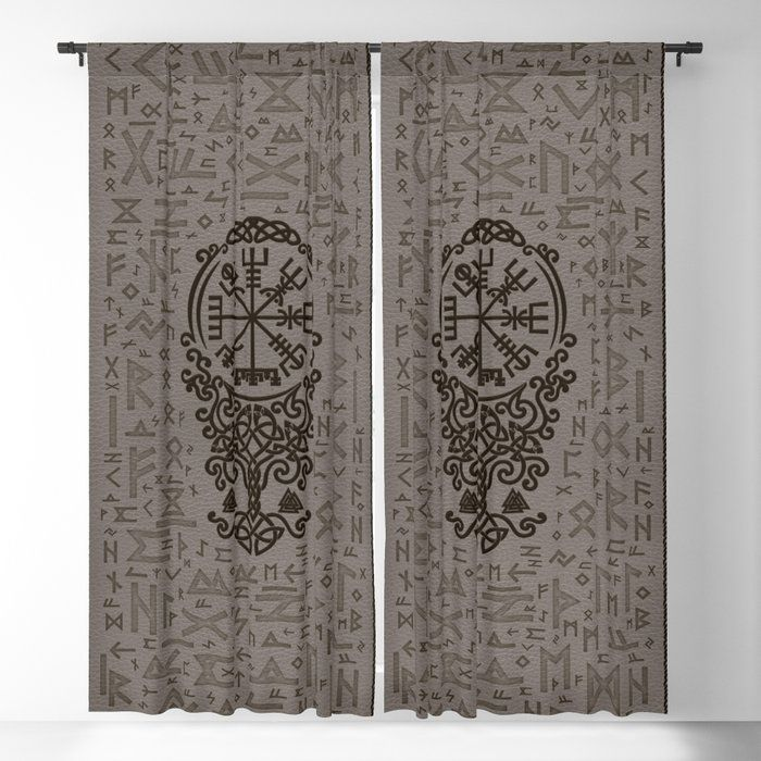 Viking Window Curtain HNCVK0008